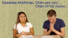 Hallo auf Thai