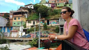 Sabrina alleine unterwegs in Kolumbien